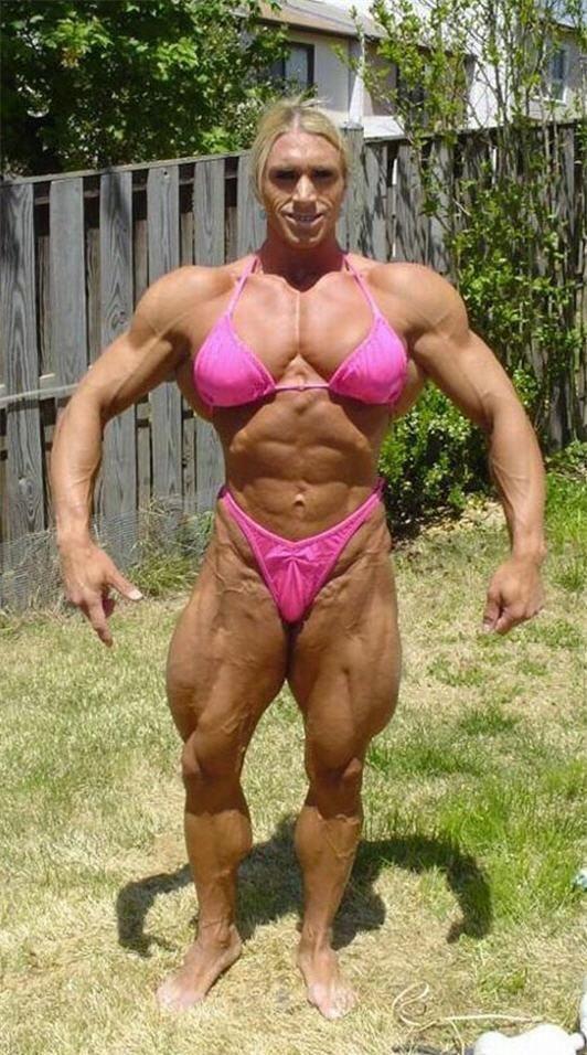 16 Horrifying Female Bodybuilders | 2 Love-n-Hate