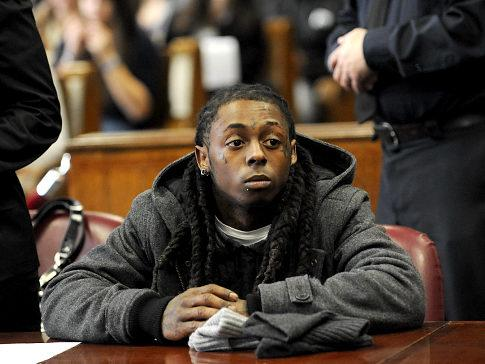 Lil Wayne is no longer a free man. On Monday, Rapper Lil Wayne began serving